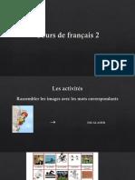 Cours de Français PPT