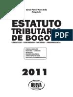 Estatuto Tributario de Bogota a 2011