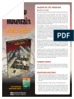 Shadow On The Mountain Reading Guide