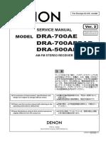 Denon-dra500ae 700ae Rec