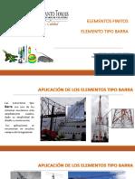 2.1Elementos Barra