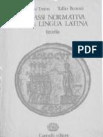 97699725 Alfonso Traina Sintassi Normativa Della Lingua Latina