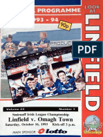 Linfield v Omagh Town 16.10.93