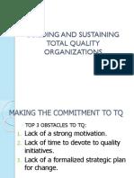 Buildingandsustainingtotalqualityorganizations 140217185646 Phpapp02 (1)