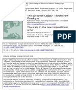 The European Legacy Volume 1 Issue 1 1996 [Doi 10.1080%2F10848779608579421] Herrero, Montserrat -- The State in the New International Order