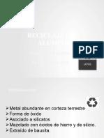 Reciclaje Aluminio