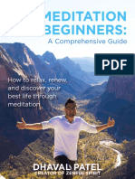 Meditation for Beginners Book 1