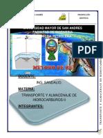 Informe de Transportes II
