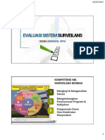 Evaluasi Sistem Surveilans