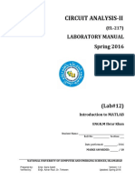 Lab12 MATLAB