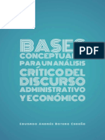 Bases Conceptuales Para Un Análisis Crítico