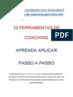 Ferramentas de Coaching - Aprenda aplicar passo a passo cada ferramenta
