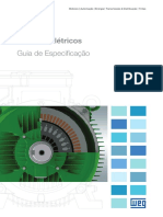WEG Motores Eletricos Guia de Especificacao 50032749 Brochure Portuguese Web
