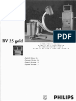 Philips BV-25 Gold X-Ray - User Manual (Ger)