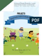 Relatório Do Projeto Somos Todos Contra o Trabalho Infantil