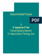 Ultrasound Assisted Processes