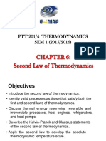 Chapter 6 - Second Law of Thermodynamics