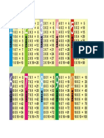 Formato Tablkas de Multiplicar