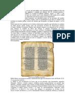 Etimología - la biblia