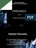 1. Hakikat Pancasila