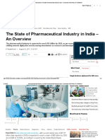 Indian Pharmaceutical Industry_ the State of Pharmaceutical Industry in India – an Overview, Health News, ET HealthWorld