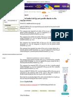 Abbott India Ltd Q3 Net Profit Climbs to Rs. 115.39 Crores - EquityBulls
