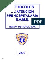 Protocolos SAMU
