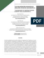 UNIDAD LOGÍSTICA DE RECUPERACIÓN DE RESIDUOS DE CONSTRUCCIÓN Y DEMOLICIÓN