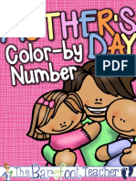 Free Mothers Day Color by Number