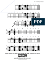 Bbt Bass Scale Major a Sharp