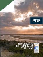 Inventario Humedales y Salinas
