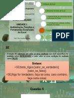 Excel Avançado - Funções (27-02)