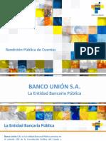 PRESENTACION Rendicion de Cuentas 2016