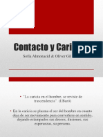 Contacto y Caricias