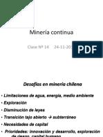 014 Clase Nº 14 Minería Continua