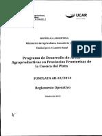 Reglamento Operativo FONPLATA
