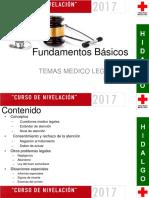 Temas Médico Legales y Éticos