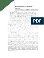 SISTEMA DE CRÉDITO PÚBLICO EN VENEZUELA trabajo.docx