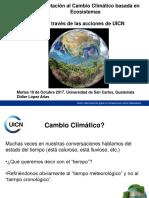 La Adaptación al Cambio Climático basada en Ecosistemas