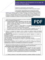 Guion de Comentario Características de La Enseñanza Del Español.