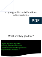 2 Hash Function Applications
