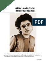 Gabriel Liiceanu - Monica Lovinescu în cautarea mamei