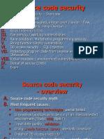 Securitatea Codului Sursa