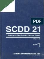 SCDD 21 Vol. 1 libro