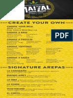 Maizal DC opening menu