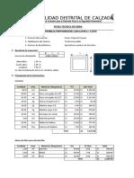 05.- Ficha de Obra Alct. 01 1.20x1.20 L= 7.50 m