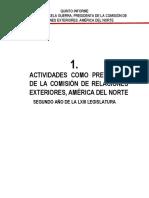 06-03-18 Actividades como presidenta de la Comisión de Relaciones Exteriores, América del norte