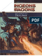 D&D 4th Player's Handbook Races - Tieflings