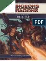 D&D 4th Player's Handbook Races - Tieflings