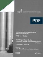 ECCS - 125 - Buckling of Steel Shells, European Design Recommendations, Eurocode 3, Part 1-6, 5th Edition - OCR.pdf